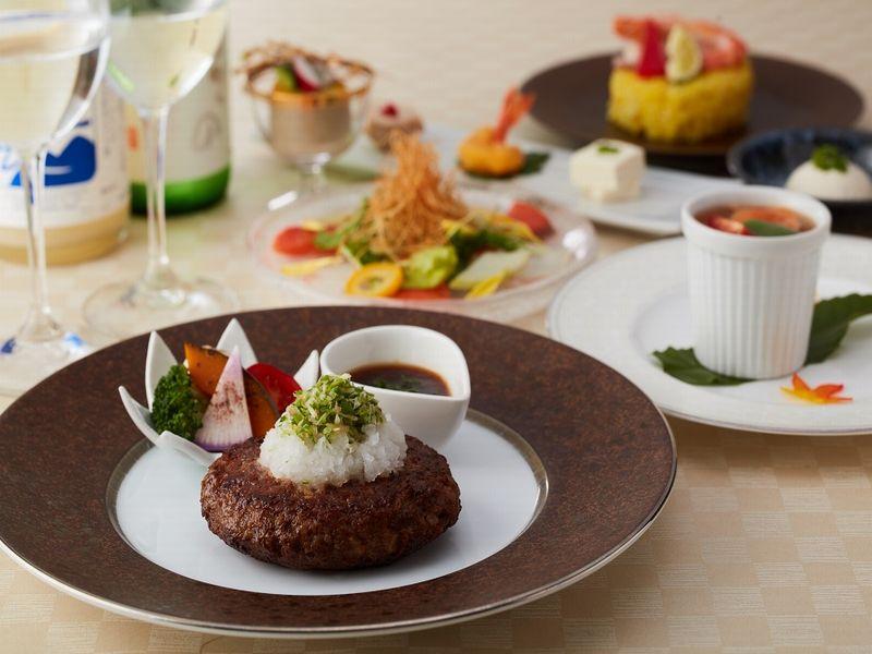 ラ・セゾンB(日本料理「四季」で和食料理人がこだわり食材で特別な洋風コースをご用意)※画像はイメージ
