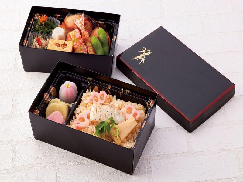 鯛飯と季節の西京焼弁当 ※画像はイメージです。