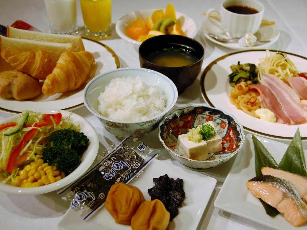 朝食バイキング(イメージ) ヘルシーなご朝食! 品数より素材を吟味してご用意いたしました。