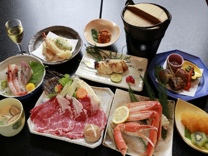 【食事】ご夕食のイメージ(季節ごとに変わります)