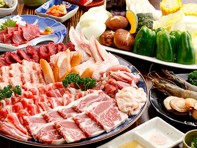 厳選お肉の焼肉食べ放題