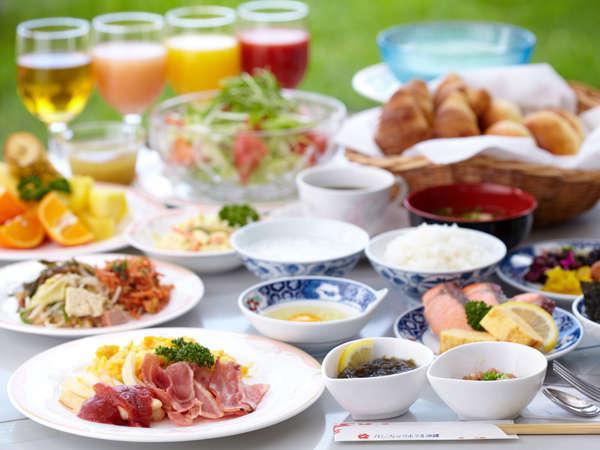 1階「ガーデンレストラン竜潭」朝食イメージ