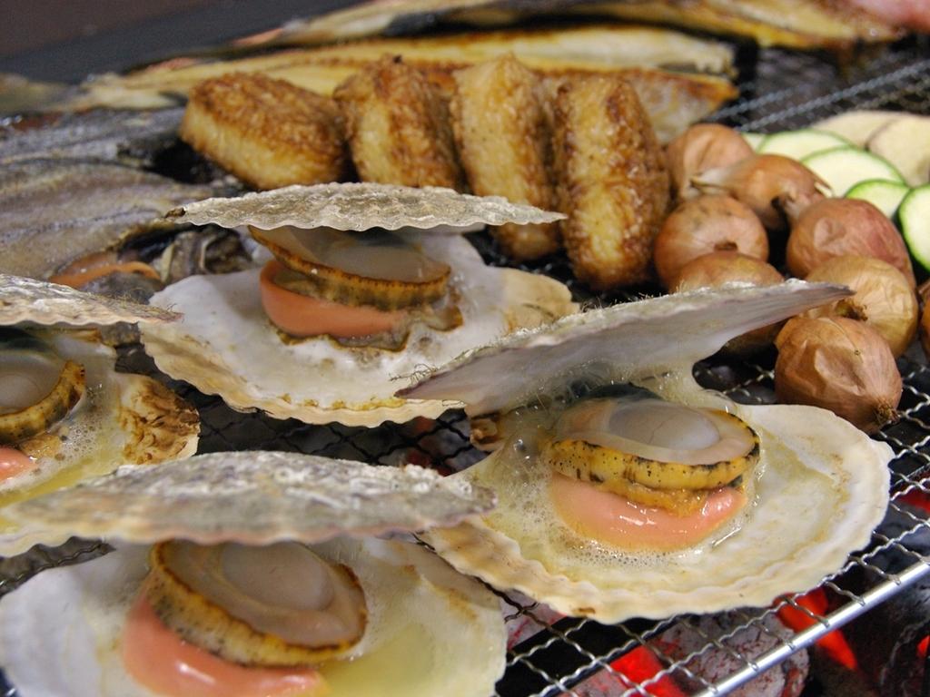 夕食バイキング(炉端焼き)