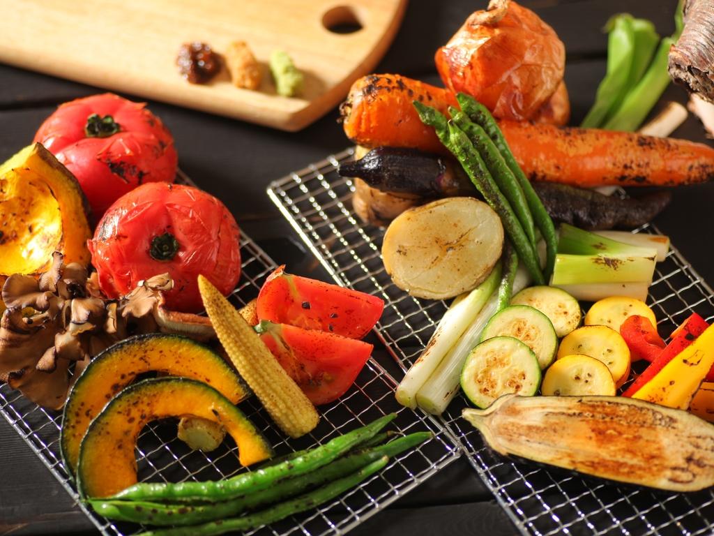 野菜のステーキ登場