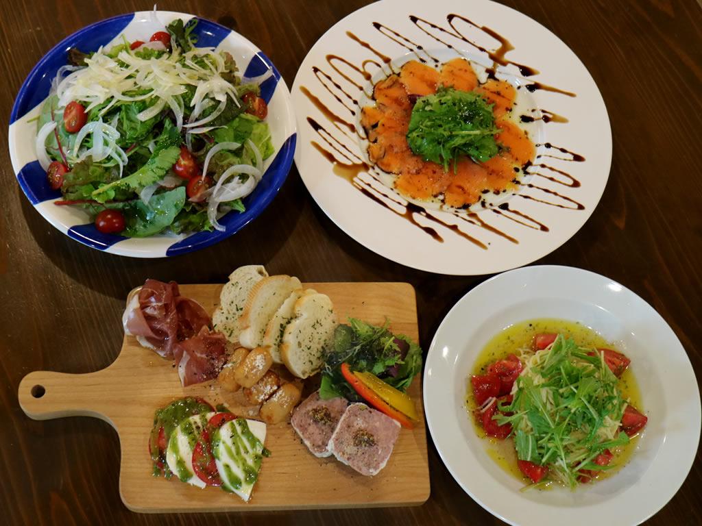 【要予約】ホテルから徒歩1分圏内の「陶農レストラン 清旬の郷」イタリアンのコース料理