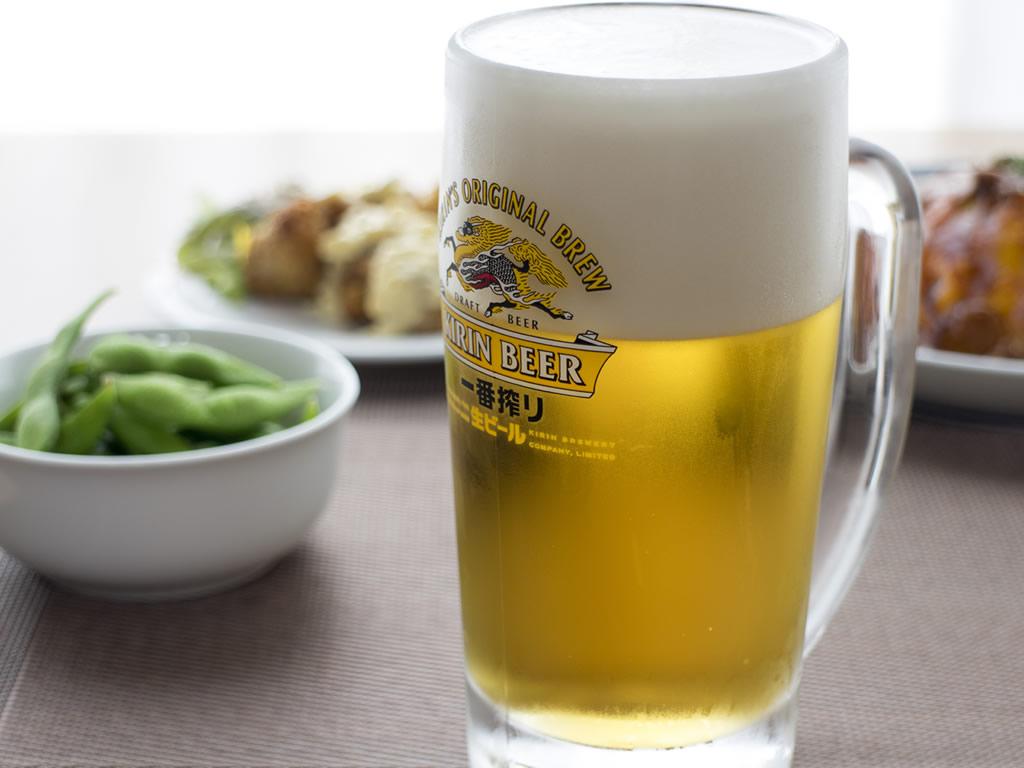 生ビール付きプラン