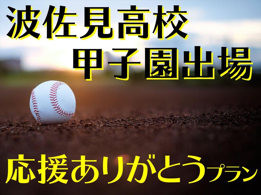 波佐見高校2017夏の甲子園出場応援ありがとうプラン