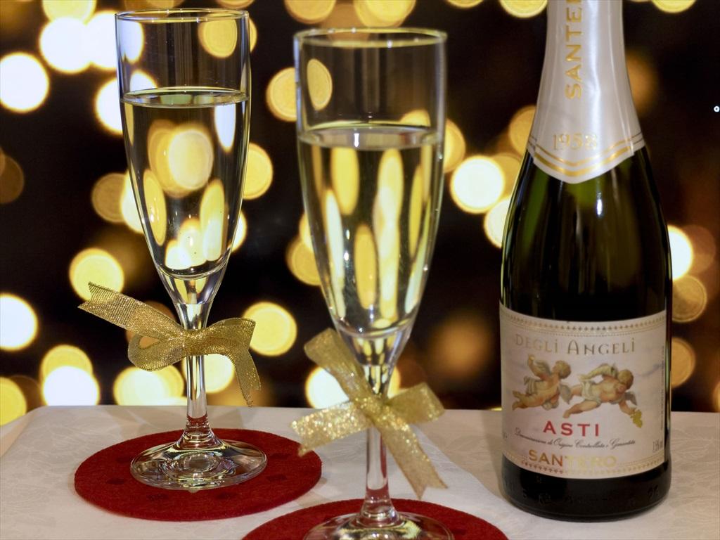 クリスマスプラン スパークリングワイン