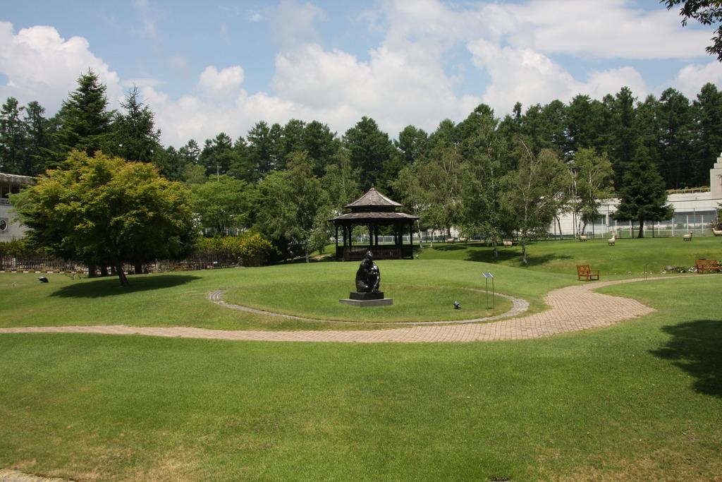 彫刻公園�C