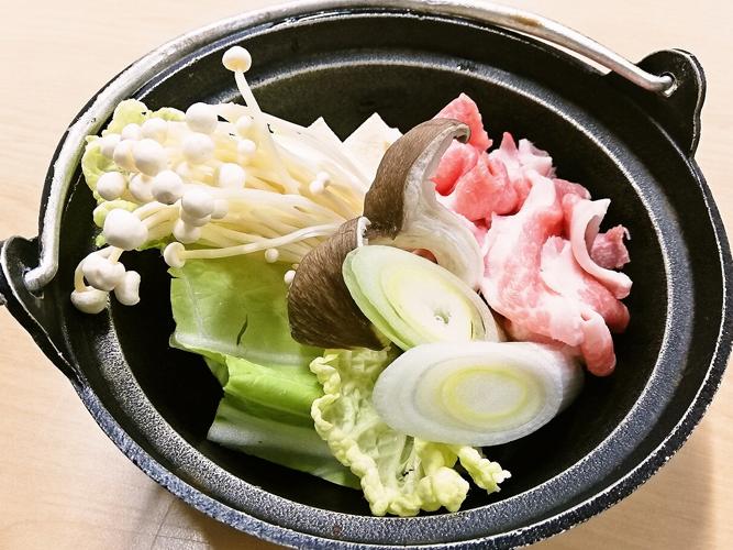 長野県産 豚鍋イメージ