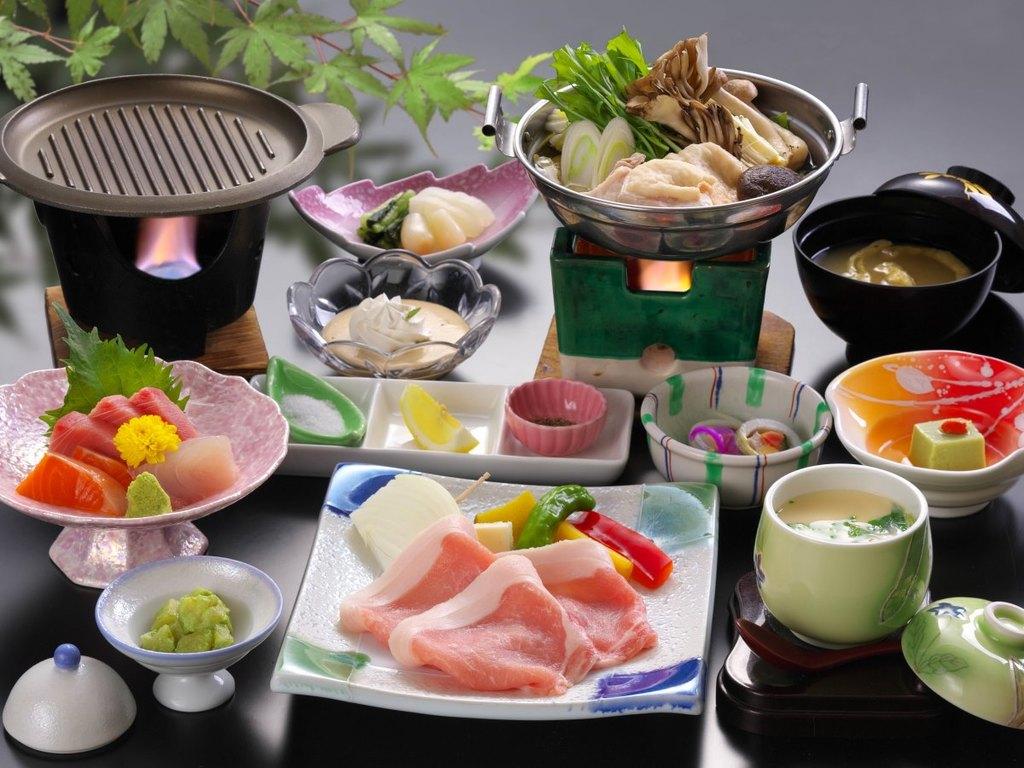 和会席膳料理(ご夕食メニュー一例)