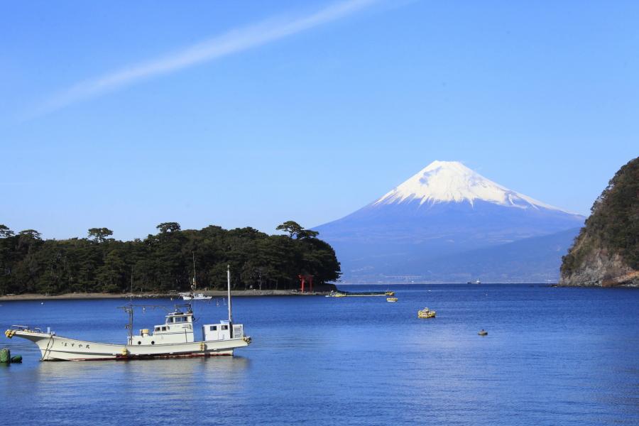 徒歩5分で壮大な富士山をお愉しみ頂けます
