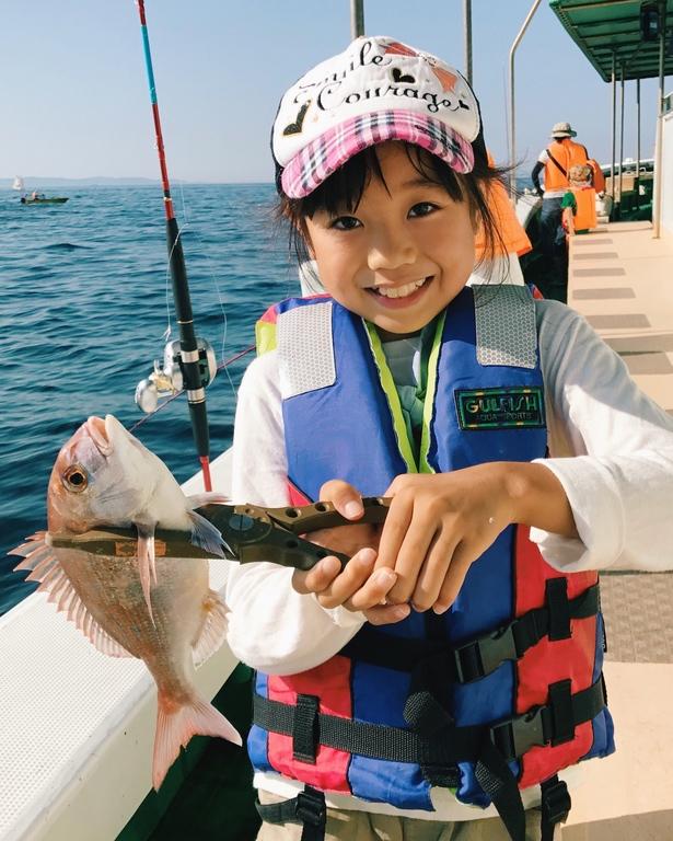 お子様と釣り体験しませんか?