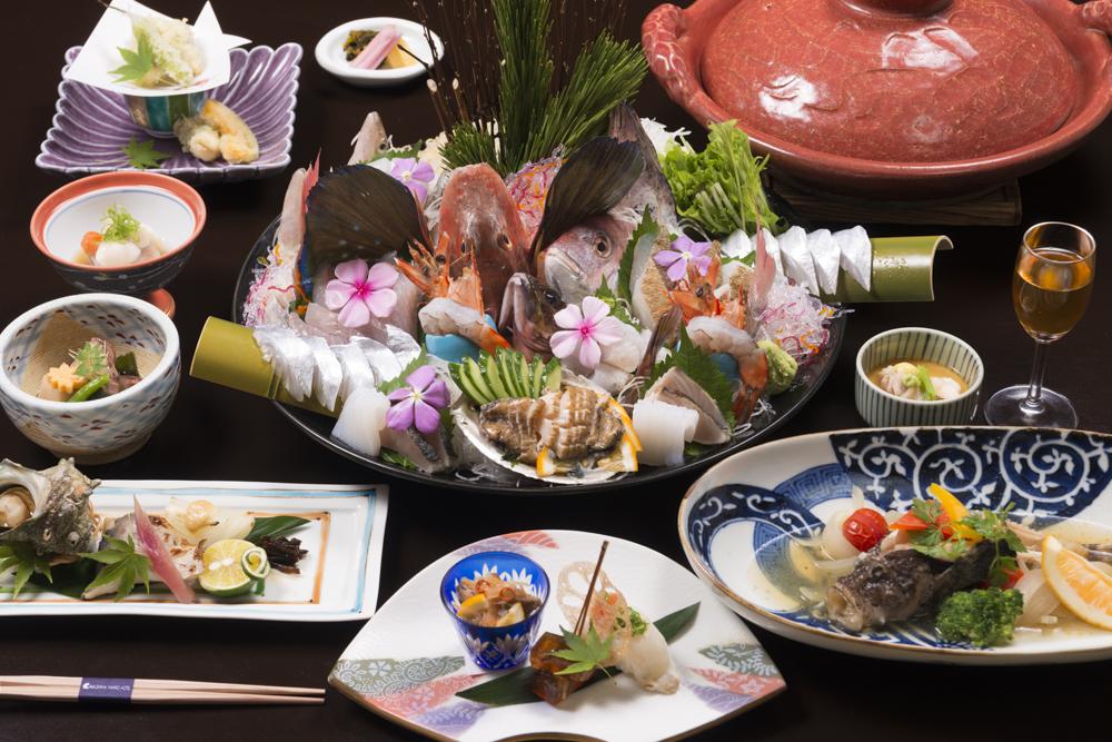 本物の淡路島のお魚料理「魚じまん」