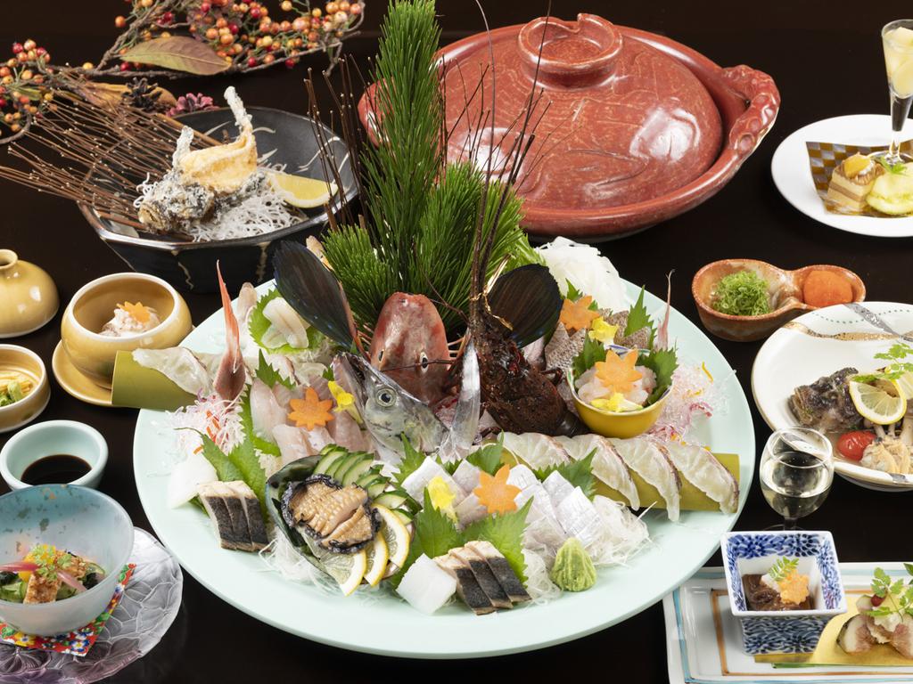 究極の魚会席コース「淡路島〜極み魚じまん」