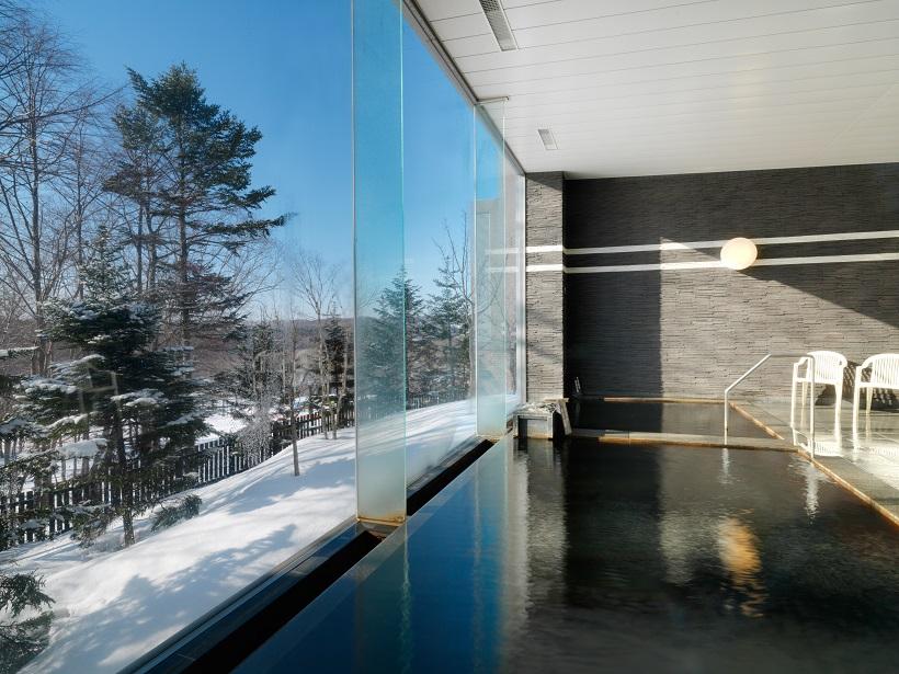 大浴場内風呂(冬)