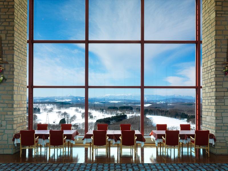 最上階レストラン『サウスエルフィン』(冬)