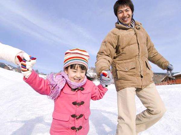 スノーパークで雪遊びデビューしちゃいましょう!