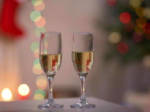 【クリスマスプラン】シャンパンフルボトル