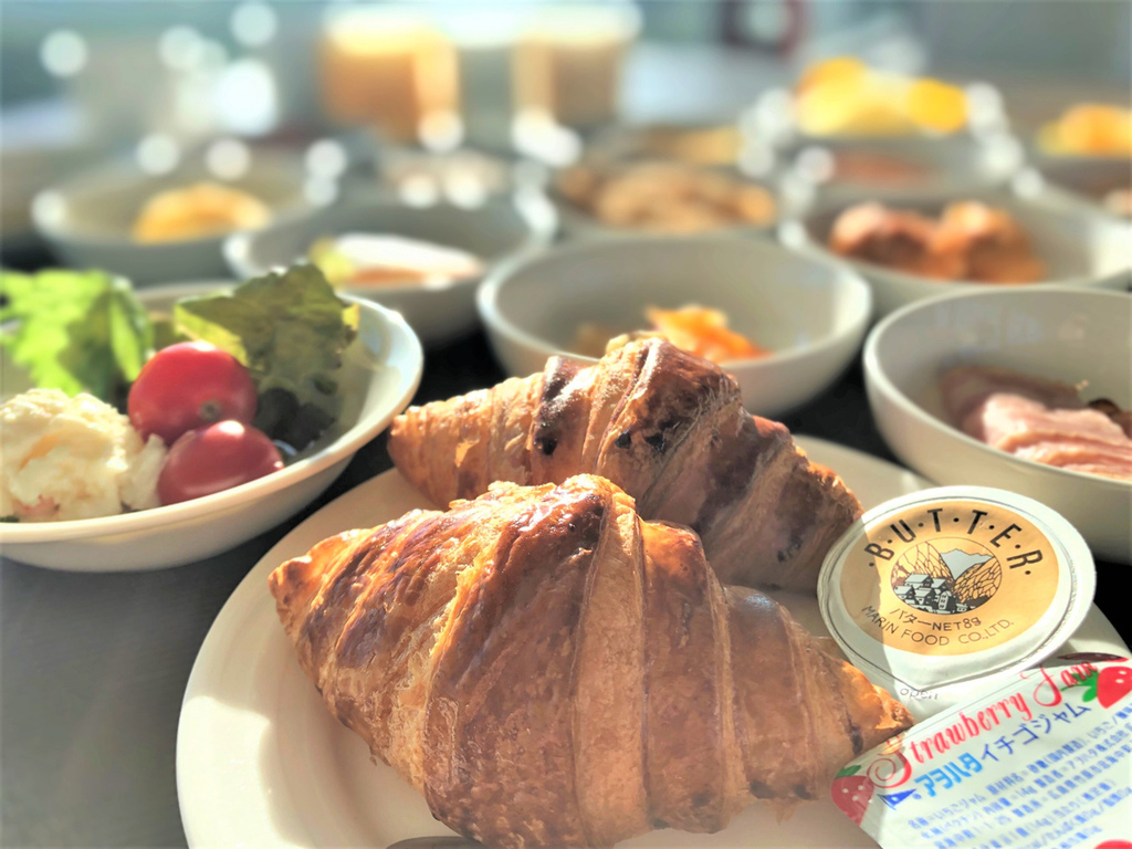 【朝食一例】クロワッサン