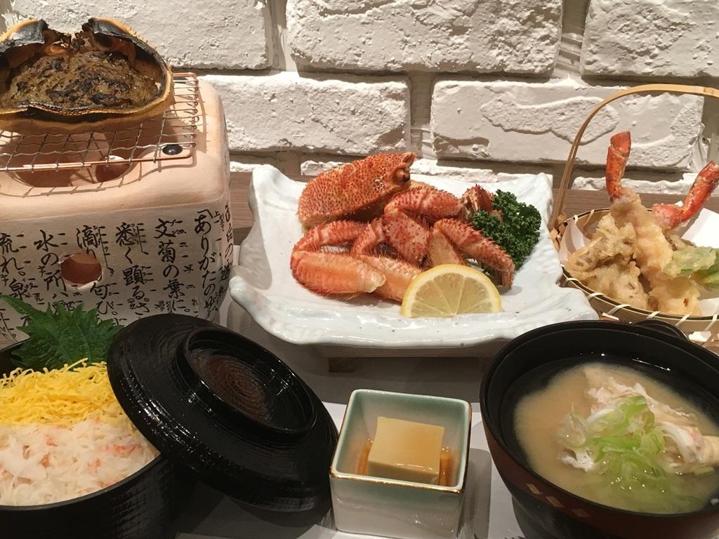 【夕食】カニ三昧