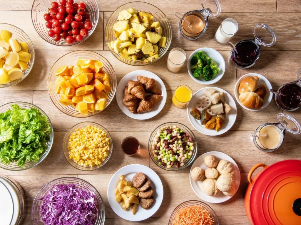 【朝食】『〜北のビタミン朝食・元気ブッフェ〜』をコンセプトに2019年4月、リニューアルしました。