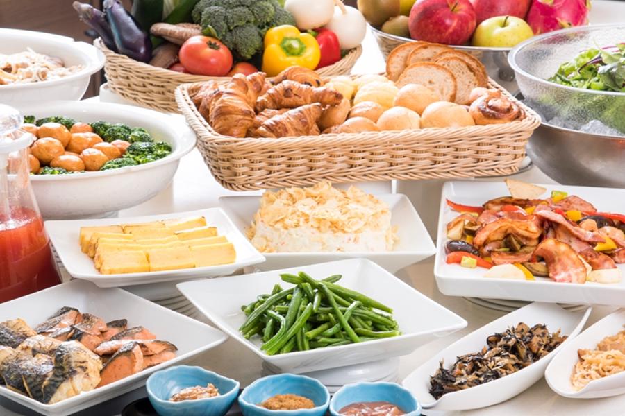 ◆バラエティ豊かな朝食