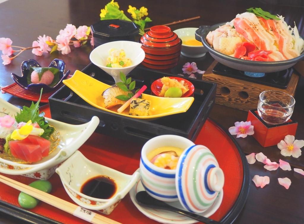 カジュアルなボリュームの美酒鍋御膳をご用意!