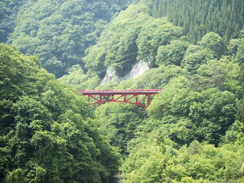 高山村の象徴「高井橋」