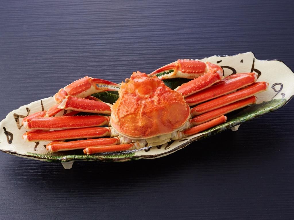 冬グルメ!浜茹でずわい蟹(イメージ)