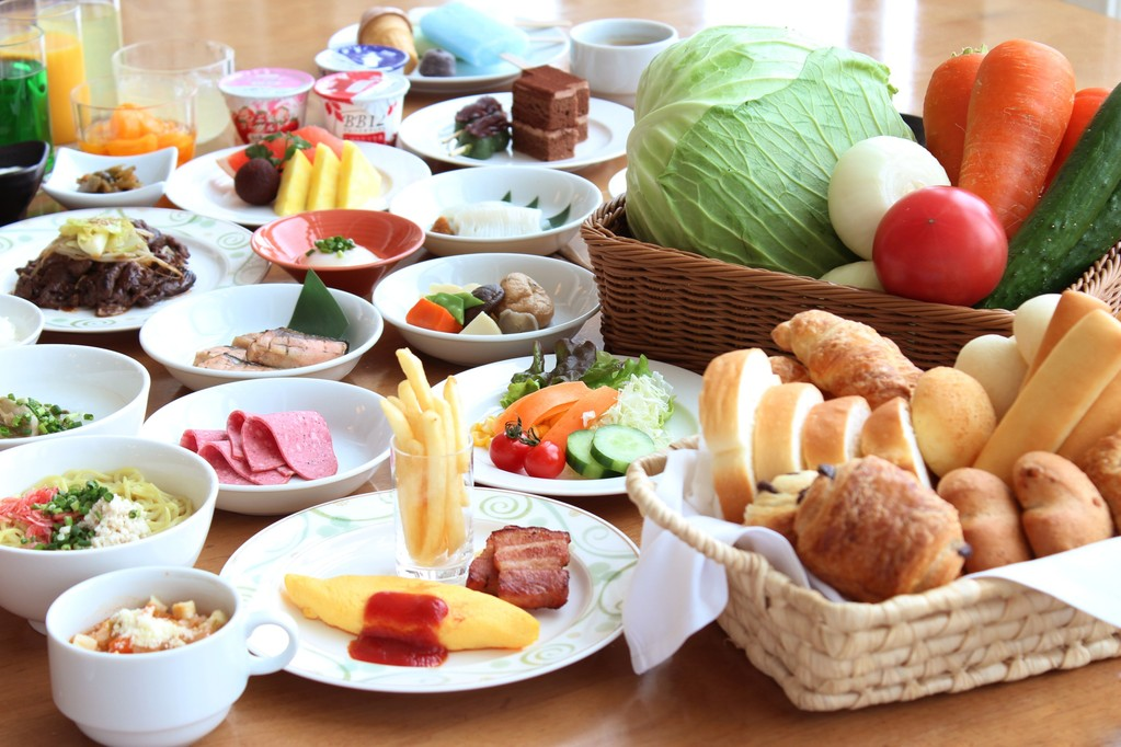 """【朝食】和洋30品""""元気の出る朝食ビュッフェ"""""""