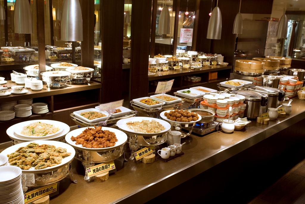 中国レストラン【香満樓】ランチビュッフェ(料理はイメージです)