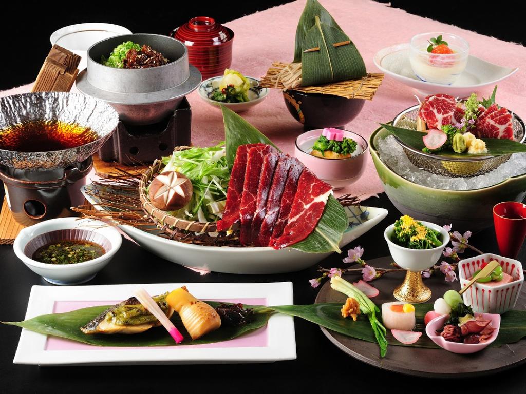 春の味覚『桜会席』 【3〜5月限定】一例