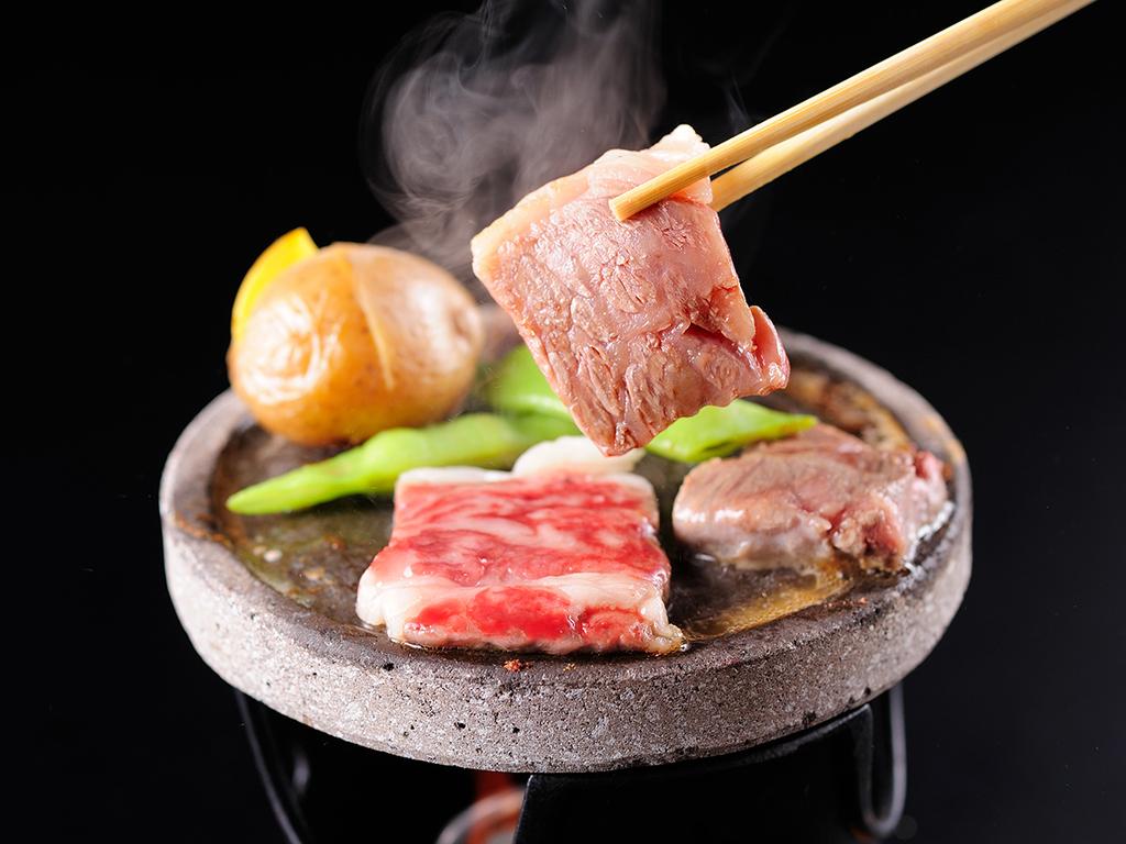 牛の陶板焼き(料理イメージ)