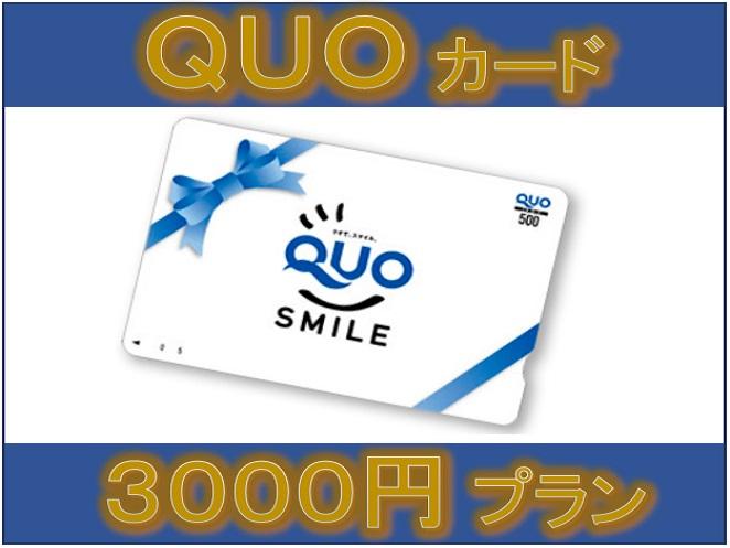 クオカード3000円プラン