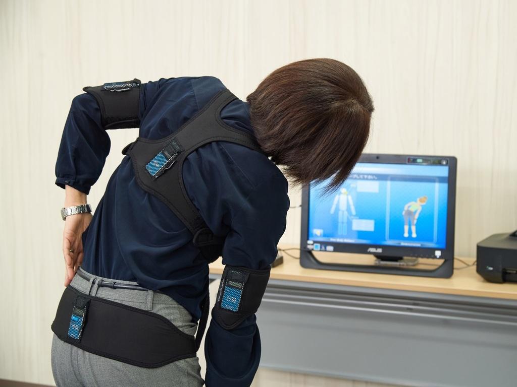 <健康パビリオン>姿勢・身体バランス測定