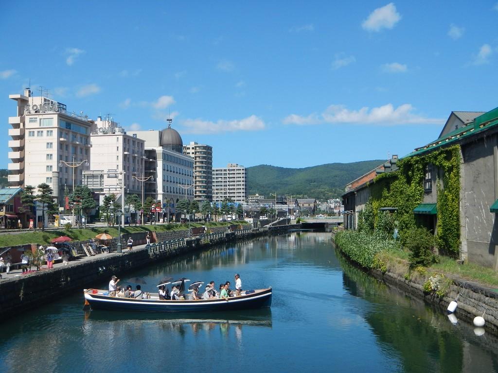 小樽運河クルーズ(イメージ)