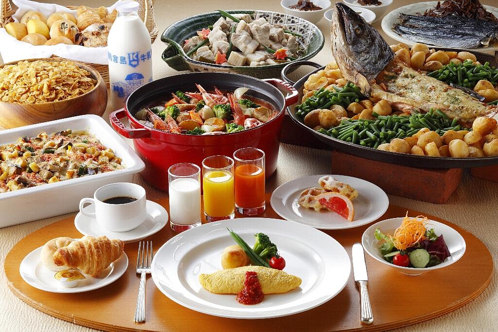 「北海道旅行の思い出に残る」朝食ブッフェ