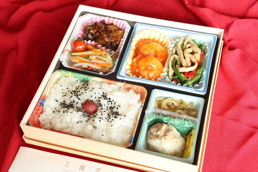 上海菜館の「本格中華弁当」(1,000円)
