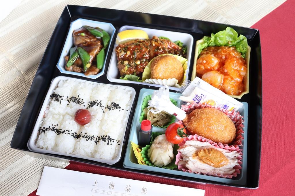 『上海菜館』の「本格中華弁当」