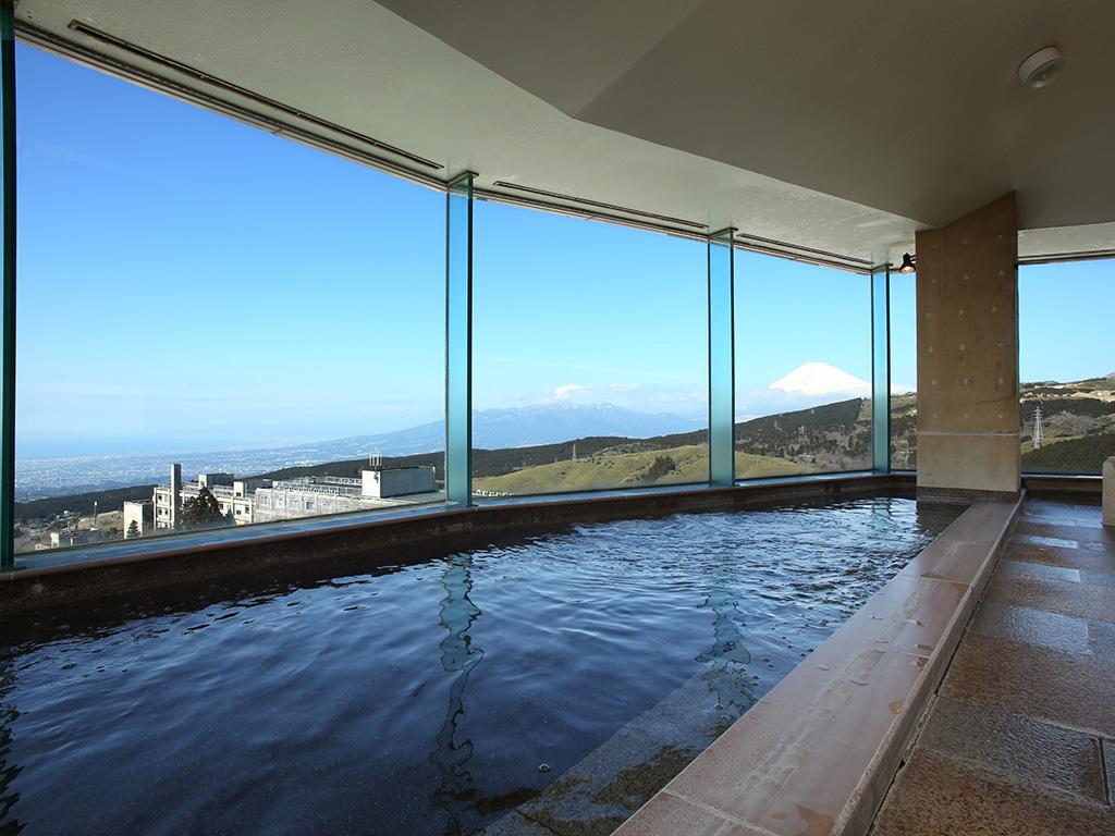 駿河湾が望める大浴場