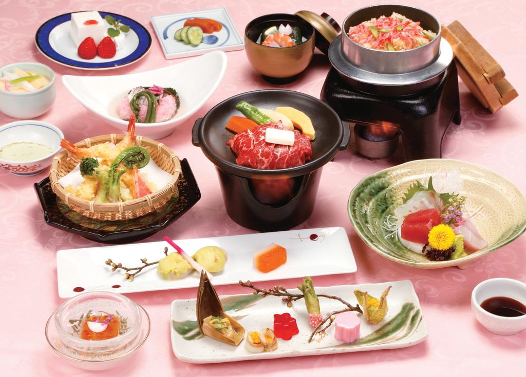 季節の和食会席 ※イメージ写真