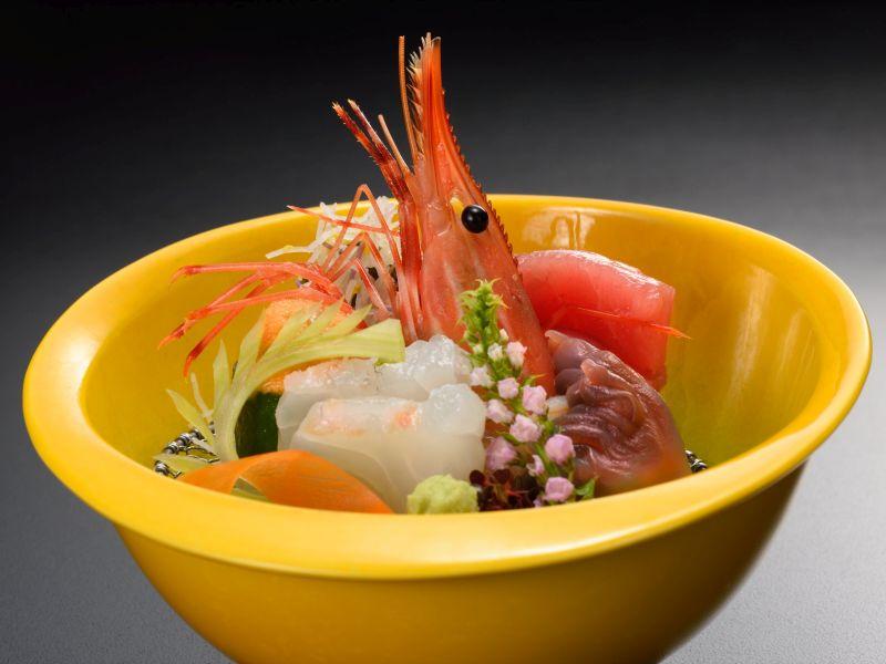 和食会席(秋の献立例:お造り3)