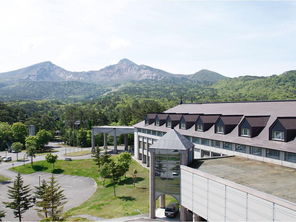 ホテル外観:冬