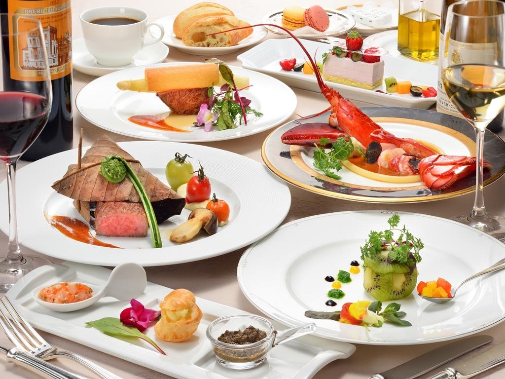会津食材をふんだんに使用した最高級フレンチフルコース@2017年度春当ホテル最高グレード