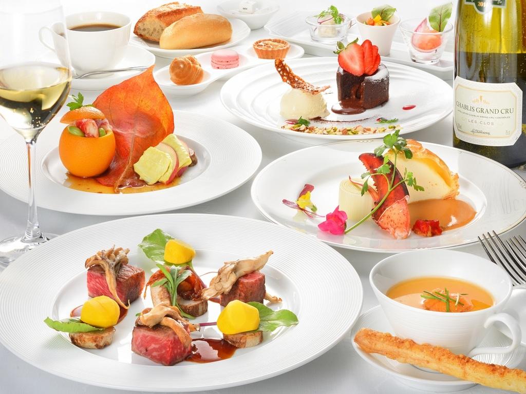 伝統のレシピを守りながら、会津食材との見事な融合を見せる王道フレンチフルコース