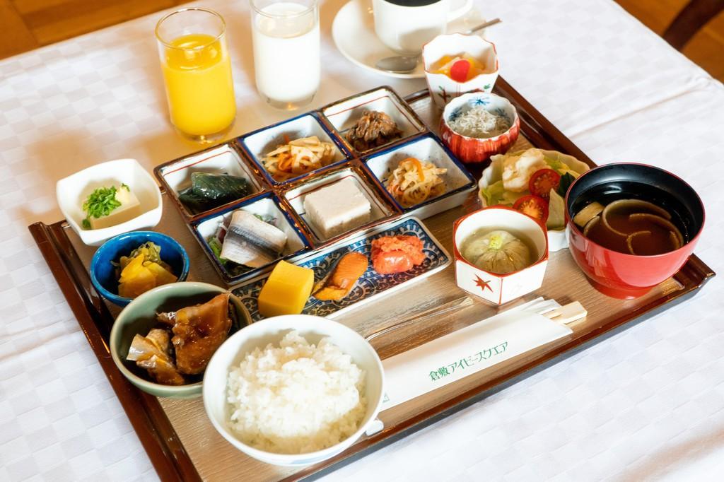 朝食用和定食