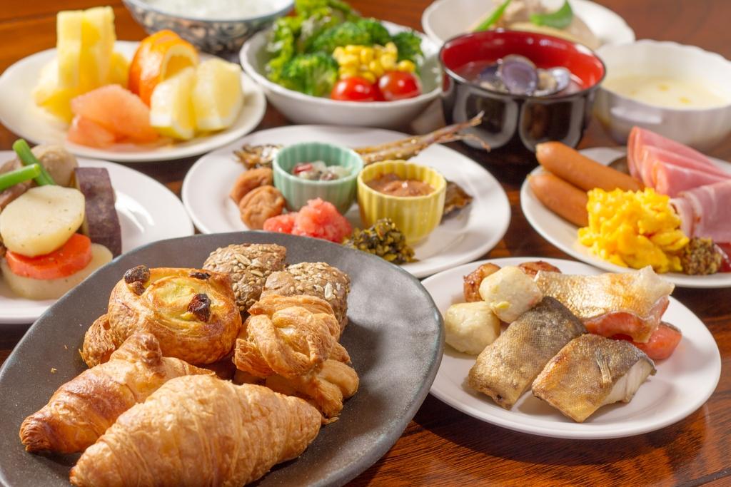 1日の始まりは、朝食から!