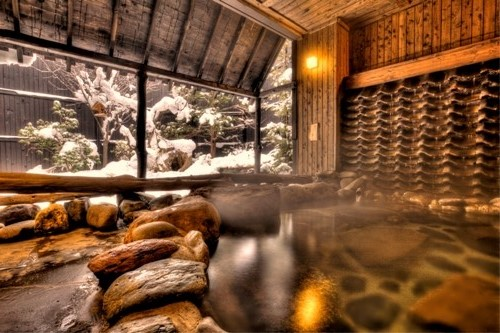 冬の��湯くら�∴�の湯