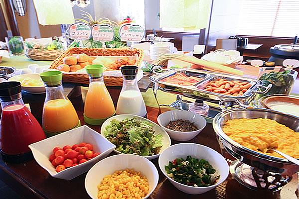 朝食バイキング(洋食も)
